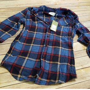 Flannel shirt NWOT